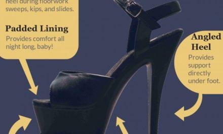 The Anatomy of a Pole Dance Heel