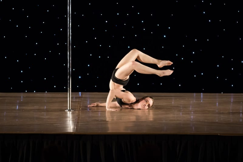 Scorpion by Katanna - Destynnie Hall at Pole Sport Organization Northeast
